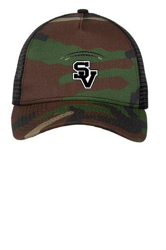 SVJuniorFootball-New Era Camo Trucker Hat
