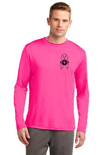 SVFootball.-Pink Long Sleeve Dri Fit