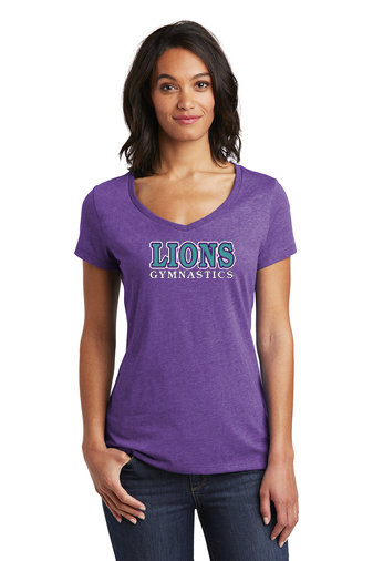 LionsGymnastics-Women's District Soft Style Shirt