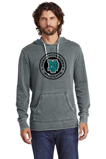 NP Wildcats-Vintage Hoodie-Round Logo
