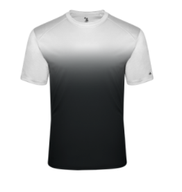 SVFootball-Badger Ombre Short Sleeve Shirt