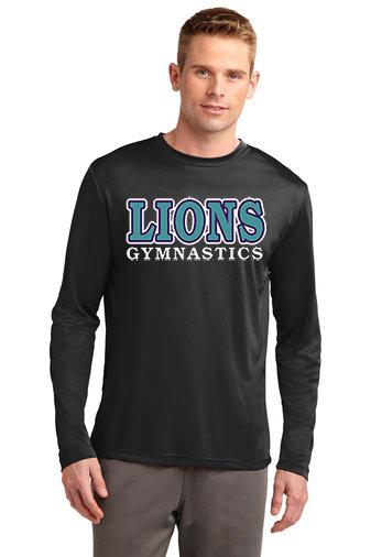 LionsGymnastics-Long Sleeve Dri Fit
