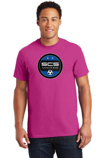 SCS-Pink Short Sleeve-Round Logo
