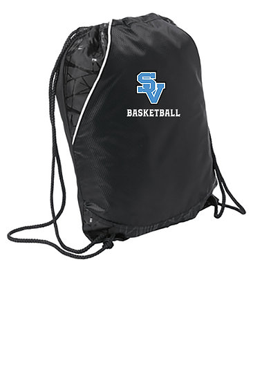SVBBBall-Embroidered Cinch Bag