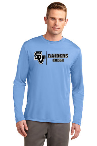 SVJuniorFootball-Long Sleeve Dri Fit Shirt-Cheer Logo 1