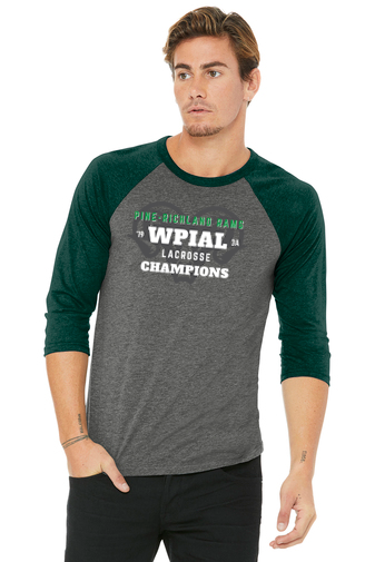 PR WPIAL Champs-Baseball Style Shirt