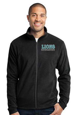 LionsGymnastics-Youth Full Zip Fleece Jacket