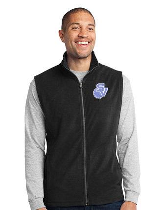 SVJuniorFootball-Men's Full Zip Fleece Vest