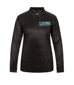 LionsGymnastics-Women's Badger Tonal Quarter Zip Jacket
