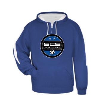 SCS-Badger Sideline Hoodie-Round Logo