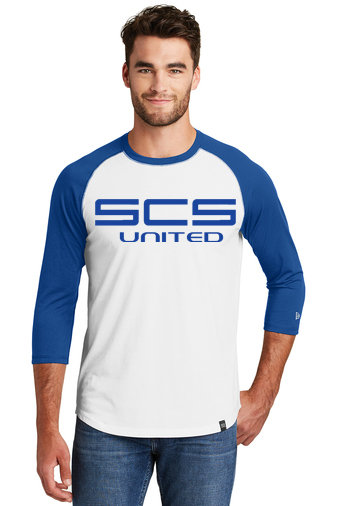 SCS-New Era Baseball Style Shirt