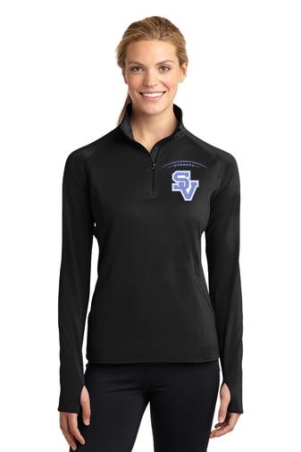 SVFootball-Women's Sport Wick Quarter Zip Jacket