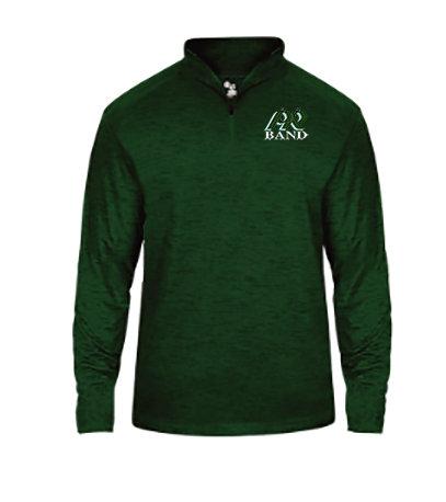 PRBand-Men's Badger Tonal Quarter Zip Jacket