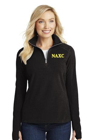 NAXC-Women's Quarter Zip Fleece Jacket