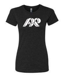 PREden-Women's Next Level Shirt-White PR Logo