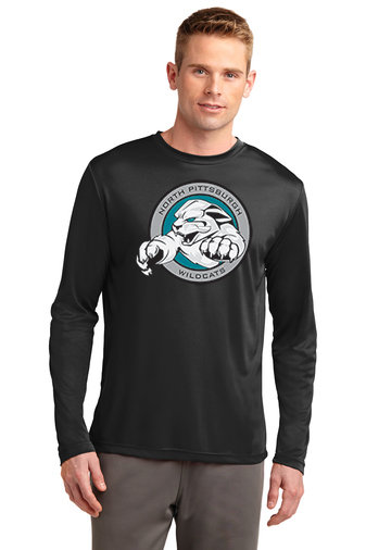NP Wildcats-Long Sleeve Dri Fit