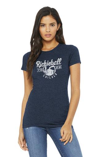 Richieball-Chicago-Women's Bella and Canvas Shirt