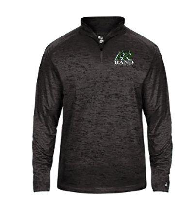 PRBand-Youth Badger Tonal Quarter Zip Jacket