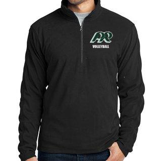 PRVolleyball-Men's Quarter Zip Fleece Jacket