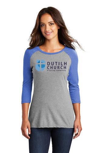 DutilhChurch-Women's Baseball Style Shirt