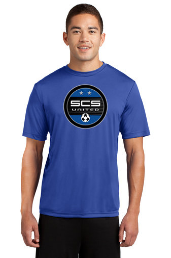 SCS-Short Sleeve Dri Fit Shirt-Round Logo