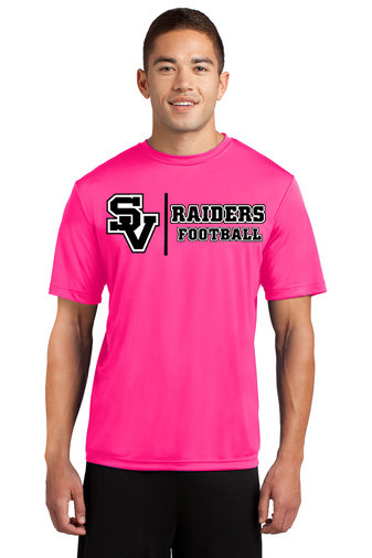 SVJuniorFootball.-Pink Short Sleeve Dri Fit Shirt