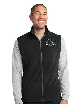 PRBand-Youth Full Zip Fleece Vest