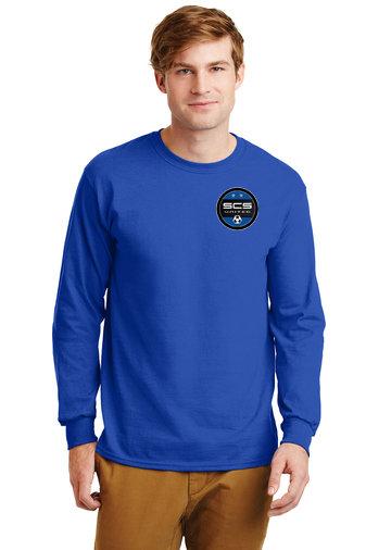 SCS-Long Sleeve Shirt-Left Chest Logo
