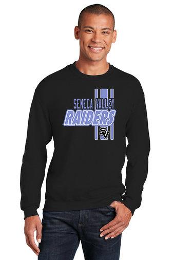SVEvansCity-Black Crewneck Sweatshirt