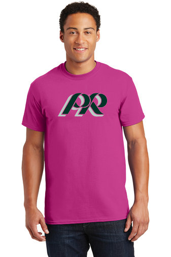 PRHS-Pink Short Sleeve Shirt -PR Logo