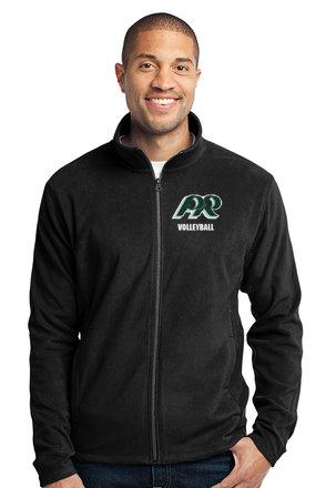 PRVolleyball-Men's Full Zip Fleece Jacket
