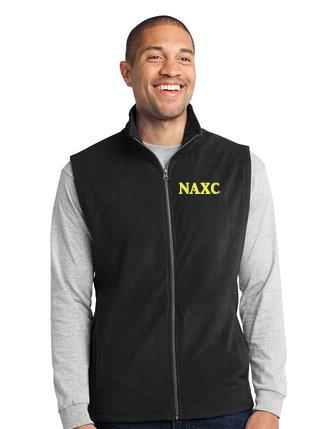 NAXC-Men's Full Zip Fleece Vest
