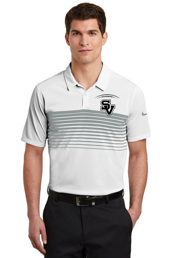 SVFootball-Men's Nike Chest Stripe Polo