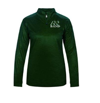 PRBand-Women's Badger Tonal Quarter Zip Jacket
