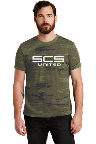 SCS-Men's Camo Short Sleeve Shirt