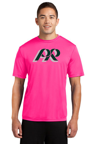 PRWexford-Pink Short Sleeve Dri Fit -PR Logo