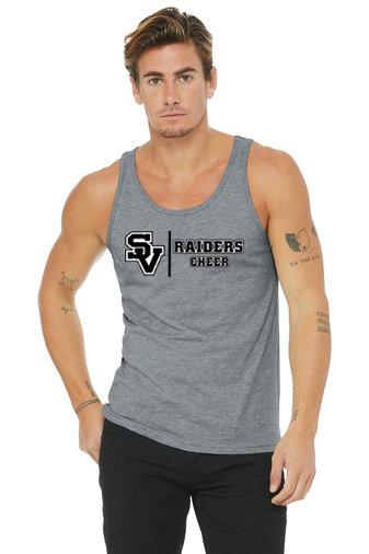 SVJuniorFootball-Men's Tank Top-Cheer Logo 1