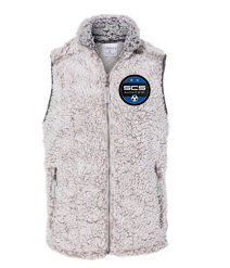 SCS-Women's Sherpa Full Zip Vest