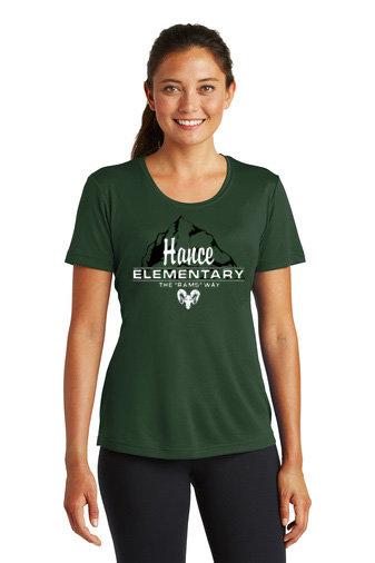 Hance-Women's Short Sleeve Dri Fit-Hance Logo