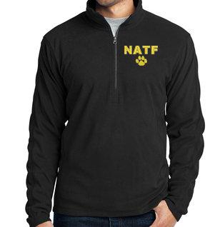 NATF-Men's Quarter Zip Fleece Jacket