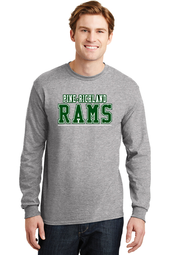 PRHance-Youth Long Sleeve-PR Rams Design