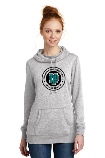 NP Wildcats-Women's Lightweight Hoodie-Round Logo