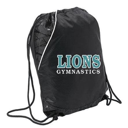 LionsGymnastics-Cinch Bag