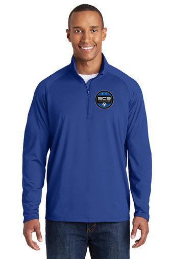 SCS-Men's Sport Wick Quarter Zip Jacket