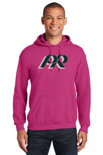 PRHance-Pink Hoodie-PR Logo