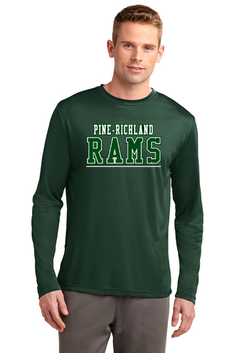 PRHance-Long Sleeve Dri Fit-PR Rams Design