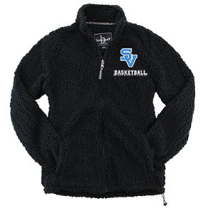 SVBBBall-Women's Full Zip Sherpa