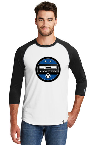 SCS-New Era Baseball Style Shirt-Round Logo
