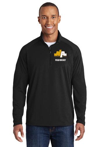 NAFH-Men's Sport Wick Quarter Zip Jacket