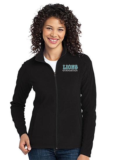 LionsGymnastics-Women's Full Zip Fleece Jacket